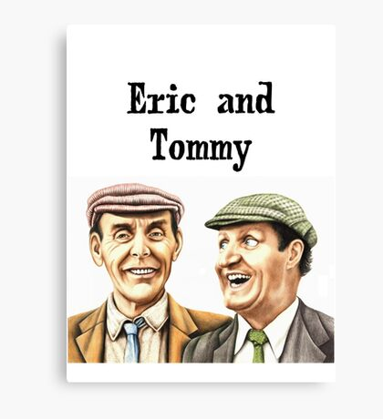 Eric and Tommy's t-shirt Canvas Print