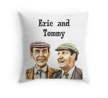 Eric and Tommy's t-shirt Throw Pillow