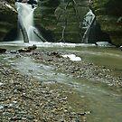 Kaskaskia Canyon  by Richard Williams
