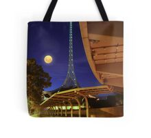 The Spire and the Moon Tote Bag