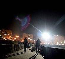 Bat-Yam at night by Mariya Manzhos