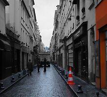 Narrow Streets Of Paris by Al Bourassa
