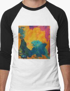 Abstract Men's Baseball ¾ T-Shirt