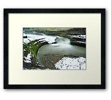 Lower LaSalle Falls Framed Print
