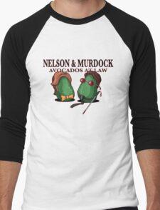 Nelson & Murdock: Avocados at Law Men's Baseball ¾ T-Shirt