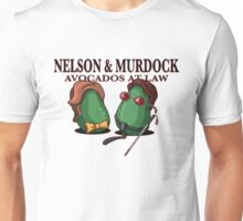 Nelson & Murdock: Avocados at Law Unisex T-Shirt