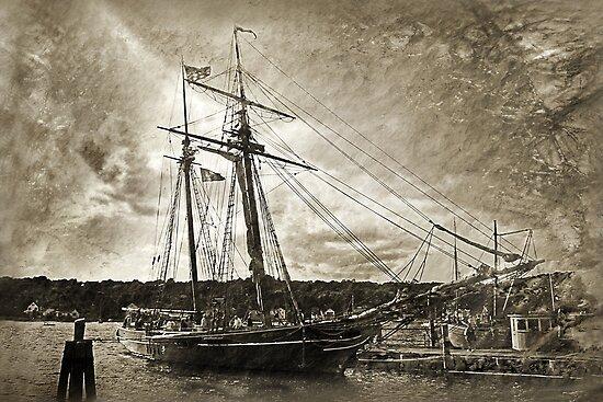 Getting Ready To Sail by CarolM