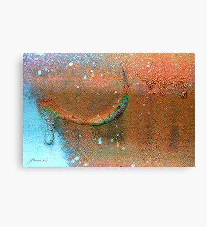 Drip-Dried Canvas Print