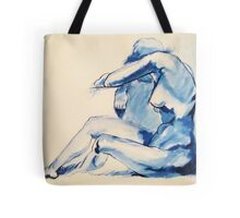 Nude Woman-India Ink Tote Bag