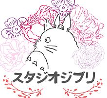 Studio Ghibli~ Totoro by bandreaNRG