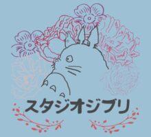 Studio Ghibli~ Totoro One Piece - Short Sleeve