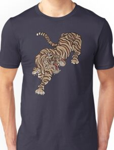 Tiger in Asian Style Unisex T-Shirt