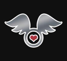 Flying Heart One Piece - Long Sleeve