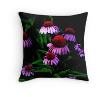 Velvet Floral Throw Pillow
