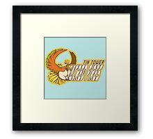 Tin Tower Sacred Fires: Ho-oh Sports Logo Framed Print