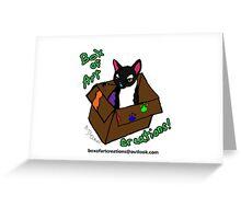 Box of Art Creations Logo Greeting Card