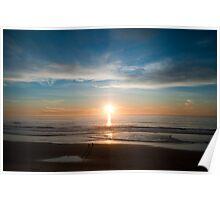 Sunset Stroll Poster
