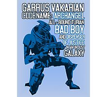 All-round Turian Bad Boy Photographic Print