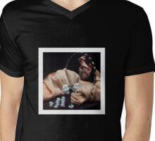 mistery Mens V-Neck T-Shirt