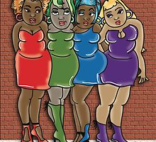 4 Hot Chicks~ by Lisa Michelle Garrett