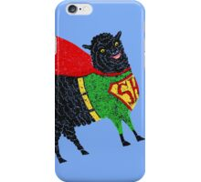 Superhero  Sheep iPhone Case/Skin