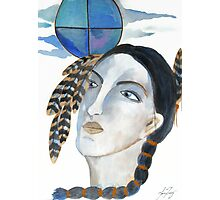 Maiden of the Four Directions - Native Woman Photographic Print