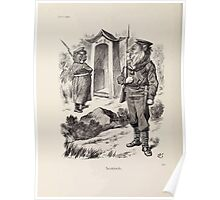 Cartoons by Sir John Tenniel selected from the pages of Punch 1901 0170 Sentinels Poster