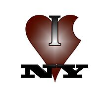 I Love New York Custom Pattern Bags by UniqueBags