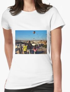 Kids & Balloons Womens Fitted T-Shirt
