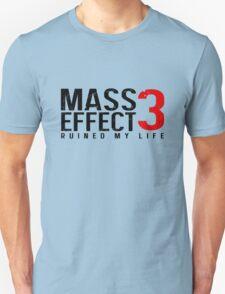 Mass Effect 3 Ruined My Life [White] T-Shirt