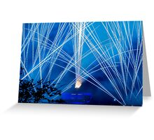 Blue Magic - Illuminations Reflections of Earth Greeting Card