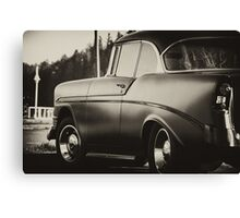 1956 chevy Old Town Florence Canvas Print