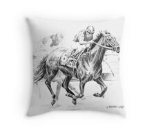 Thoroughbred Best Pal Throw Pillow