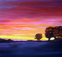 dubbo sunset by dave reynolds