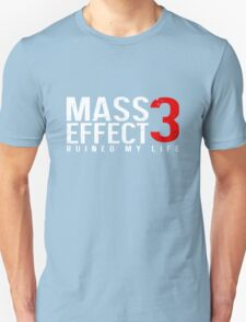 Mass Effect 3 Ruined My Life [Black] T-Shirt