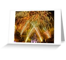 We've Got Some Wishes To Grant! - Wishes Fireworks Greeting Card