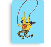 jump monkey jump Canvas Print