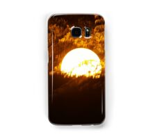 Light in the trees Samsung Galaxy Case/Skin