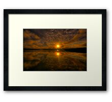 Blessing - Narrabeen Lakes, Sydney - The HDR Experience Framed Print