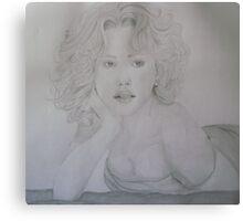 Blonde Bombshell Canvas Print