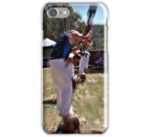 Wood Chopping Rydal Show iPhone Case/Skin