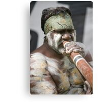 Didgeridoo Canvas Print