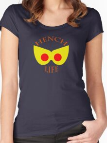 Hench Life Women's Fitted Scoop T-Shirt