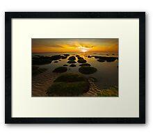 Sunset Hunstanton Framed Print