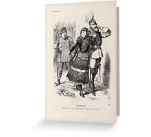 Cartoons by Sir John Tenniel selected from the pages of Punch 1901 0074 Snubbed Greeting Card