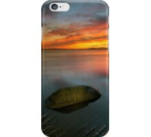 Allonby sunset iPhone Case/Skin