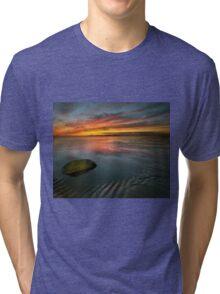 Allonby sunset Tri-blend T-Shirt