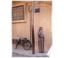Bedouin Biker Poster