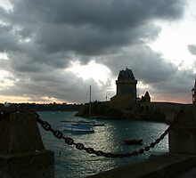 Solidor tower at St. Malo /Bretagne /France by Tristram