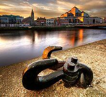 Liffey Sunrise by Gerry Chaney